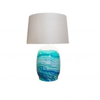 Đèn ceramic trang trí để bàn