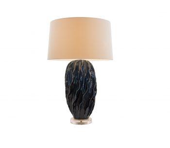 Đèn gốm để bàn decor